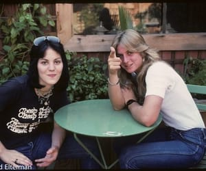 the runaways, joan jett, and sandy west image