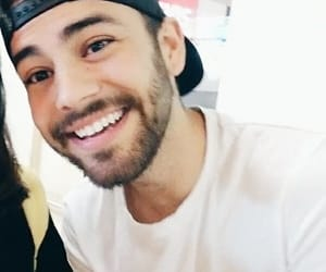 cap, cute boy, and white image