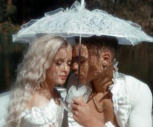 zara larsson, couple, and lace image