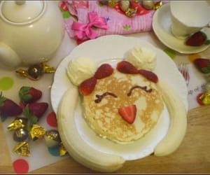 sailor moon, food, and pancakes image