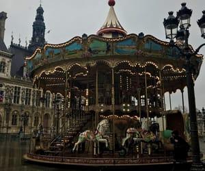 carousel, france, and palace image