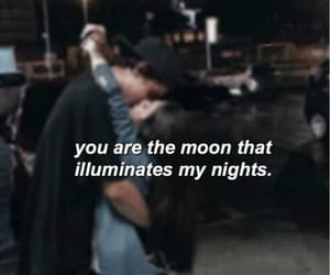 moon, couple, and quotes image