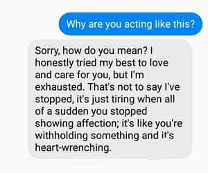 break up, Relationship, and sad image