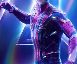 Avengers, spider man, and tom holland image