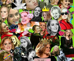 Adele, beauty, and photos image