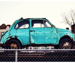 colorful, turquoise, and car image
