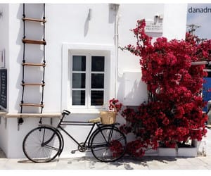 mykonos, red, and rouge image