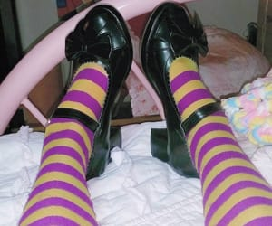 doll shoes, pantyhose, and shoes image