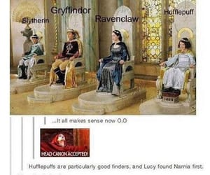 narnia, harry potter, and gryffindor image