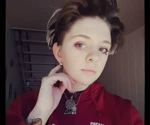 boy, genderfluid, and hair image