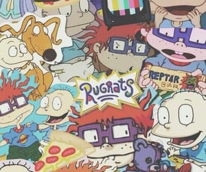 rugrats, wallpaper, and cartoon image