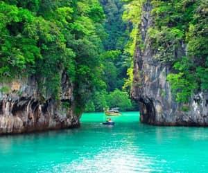 holidays, vacation, and lagoon image