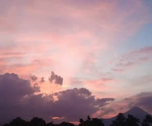 clouds, wallpaper, and pink image
