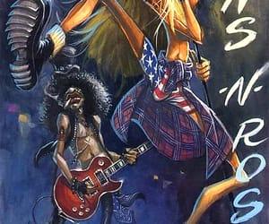 art, fun, and guitarist image