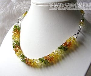bangle, glass, and necklace image