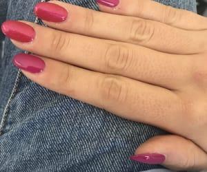 fuxia, nail art, and spring image