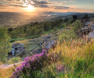 landscape, nature, and england image