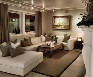 beautiful, home, and living room image