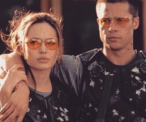 Angelina Jolie, brad pitt, and mr and mrs smith image