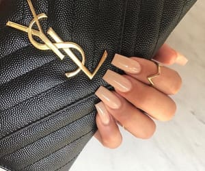 style inspiration, Yves Saint Laurent, and nails goals image