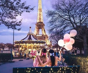 balloons, blogger, and eiffel tower image