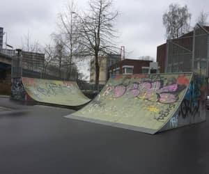 city, graffiti, and grunge image