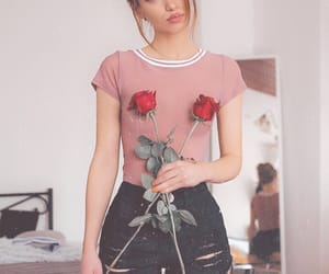 roses and cuteoutfit image