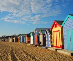 beach, brighton, and coast image