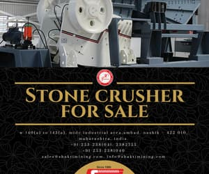 stone crusher for sale image