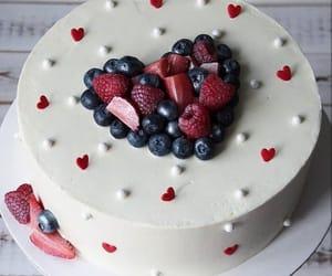 cake, creamy, and dessert image