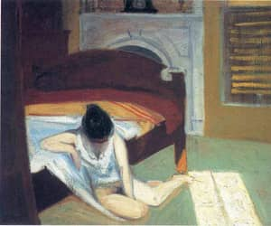 edward hopper and painting image