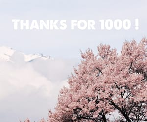 1000, I Love You, and spring image