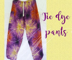 colorful pants, hippy, and cute pants image