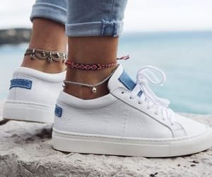 shoes, bracelet, and pants image