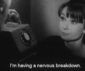 audrey hepburn, text, and black and white image