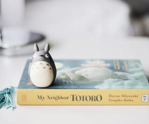 book, totoro, and melina souza image