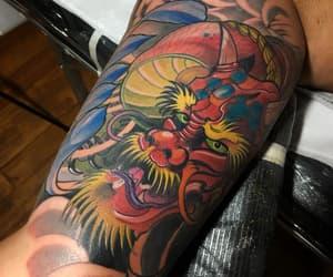 tattoo, tattoo dragon, and tatuaje image