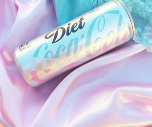 pink, coca cola, and pastel image