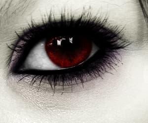 black, eye, and vampire image