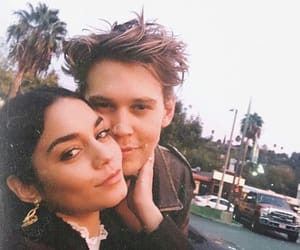 couple, austin butler, and vanessa hudgens image