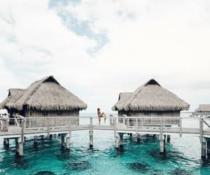 beach, summer, and vacation image