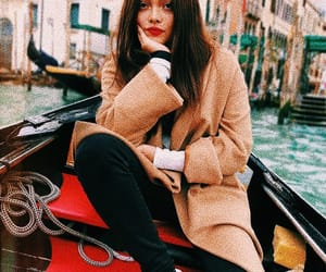 girl, lookbook, and italy image
