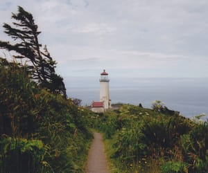 vintage, lighthouse, and sea image