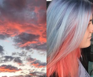 blue, sky, and sunset image