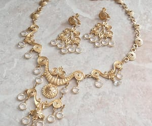 costume jewelry, vintage necklace, and statement jewelry image