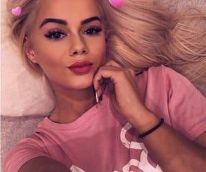 barbie, blondie, and lips image