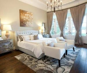 bedrooms, curtain ideas, and curtain bedrooms image