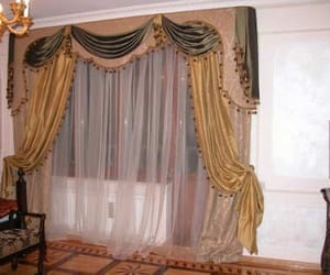 bedrooms, curtain ideas, and curtains image