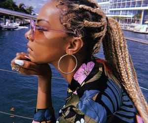 beautiful, braids, and goals image
