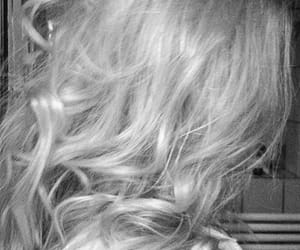 blonde, hairstyle, and curls image
